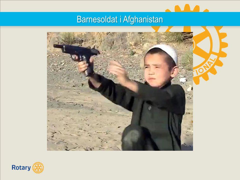 Barnesoldat i Afghanistan