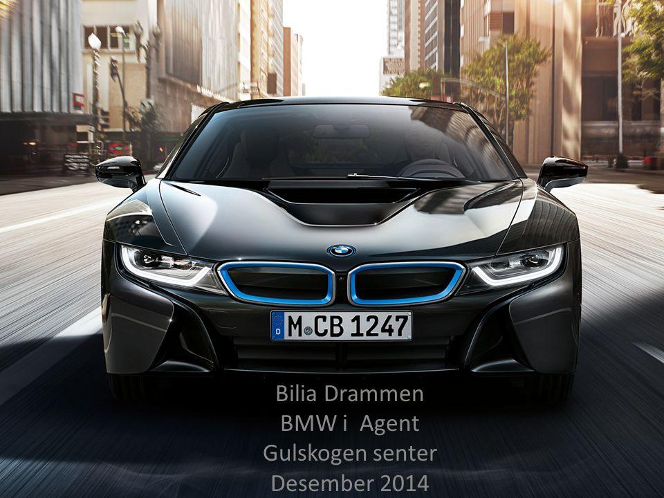 Bilia Drammen BMW i Agent Gulskogen senter Desember 2014