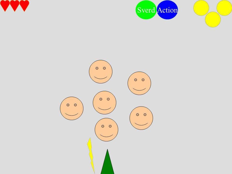 SverdAction Finn rekkefølgen vår og vi vil fortelle deg noe…