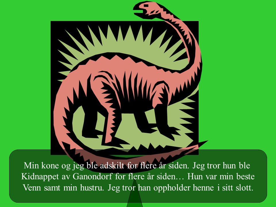 Jeg er den siste levende dinosauren i Hyrule… Tror jeg…