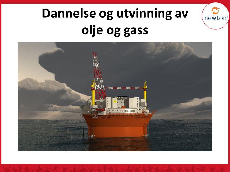 Dannelse og utvinning av olje og gass