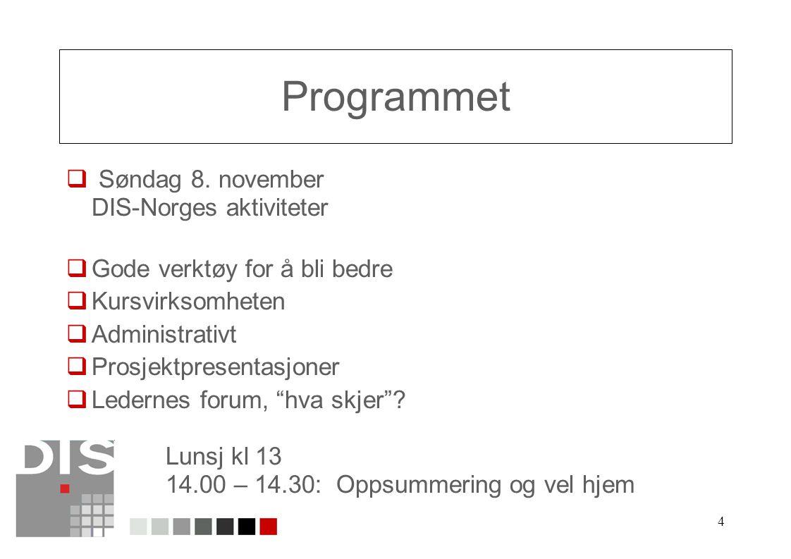 4 Programmet  Søndag 8.