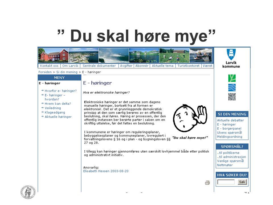 """Av Are Vegard Haug – AFIN 2004 41 """" Du skal høre mye"""""""