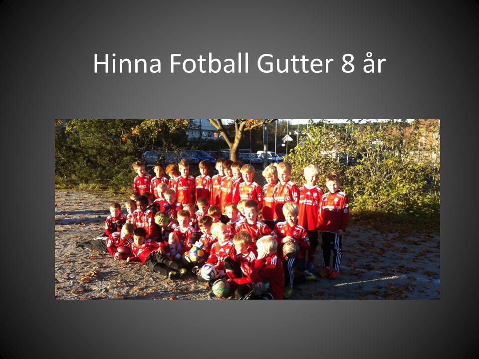 Hinna Fotball Gutter 8 år