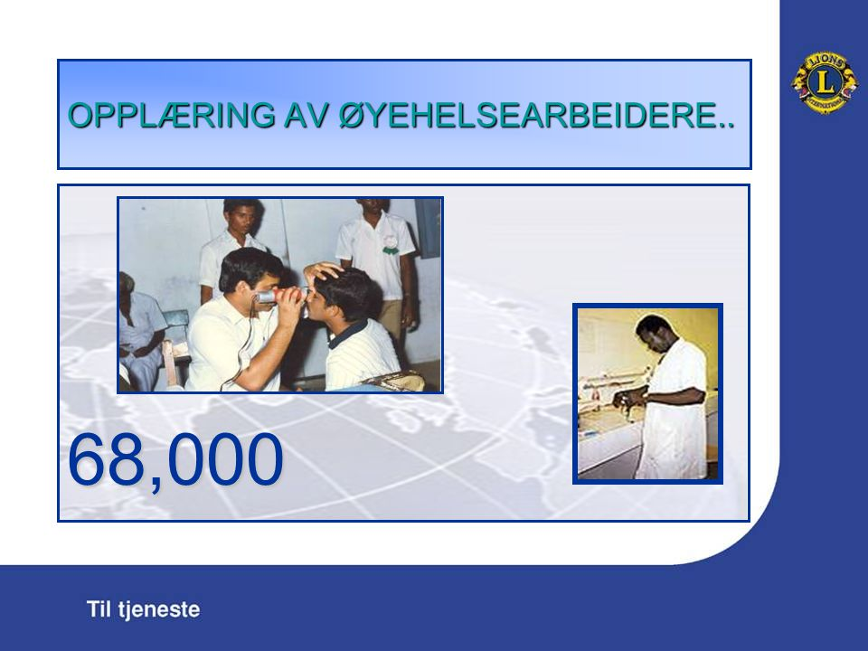 OPPL Æ RING AV Ø YEHELSEARBEIDERE.. 68,000