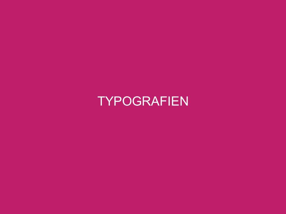 TYPOGRAFIEN
