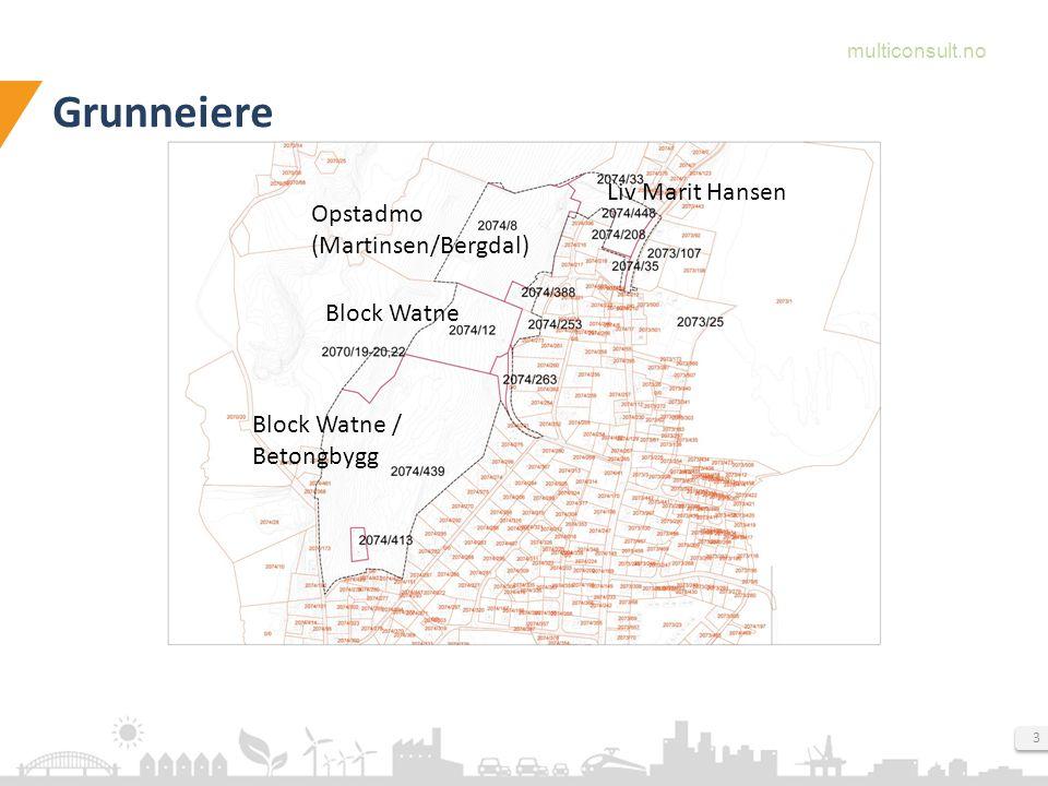 multiconsult.no 4 Overordnede rammer og føringer Planområdet er vist som B-10.4 i gjeldende kommuneplan.