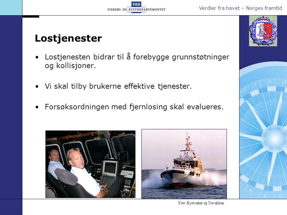 Verdier fra havet – Norges framtid Oljevernberedskap Beredskapen er definert ut i fra kunnskap om sannsynligheten for og mulige konsekvenser av at forurensing kan skje langs kysten.