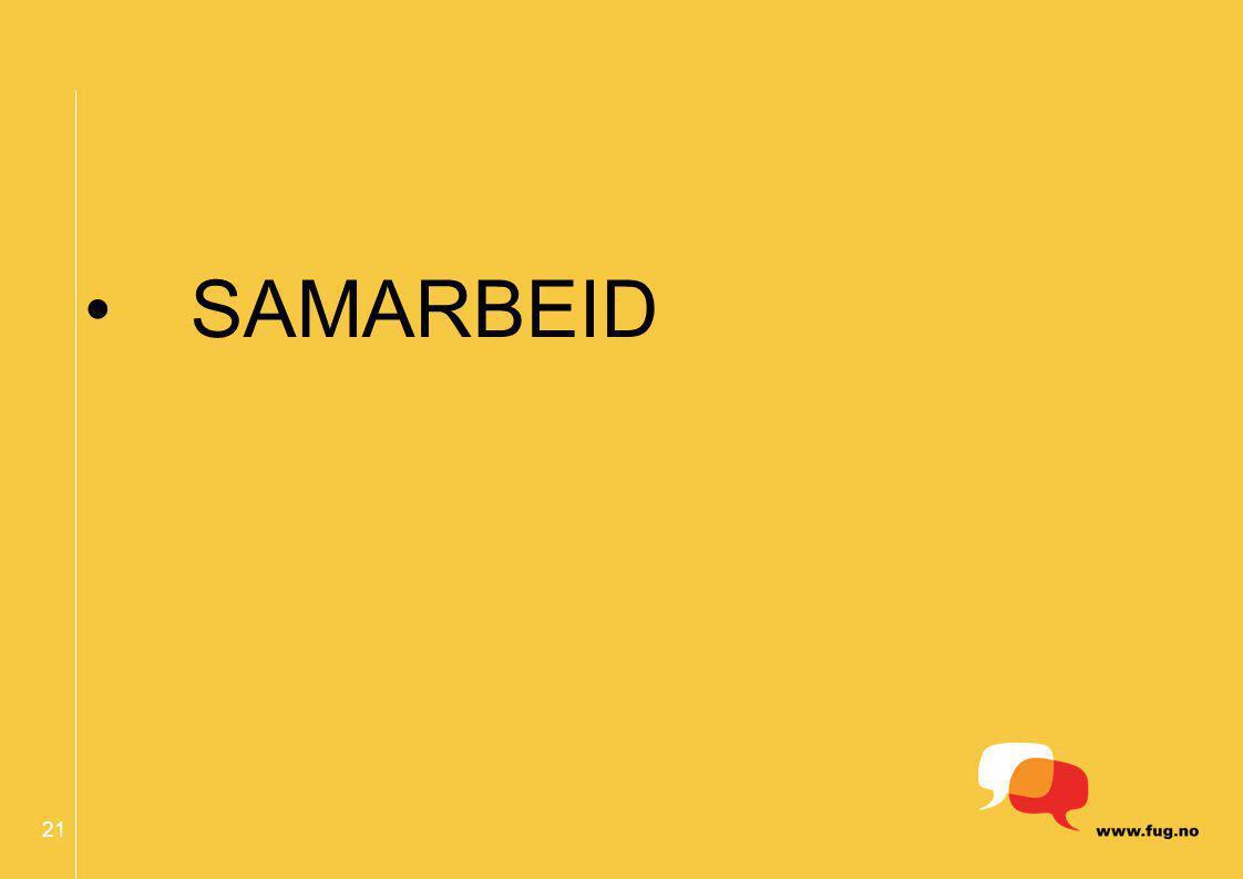 21 SAMARBEID