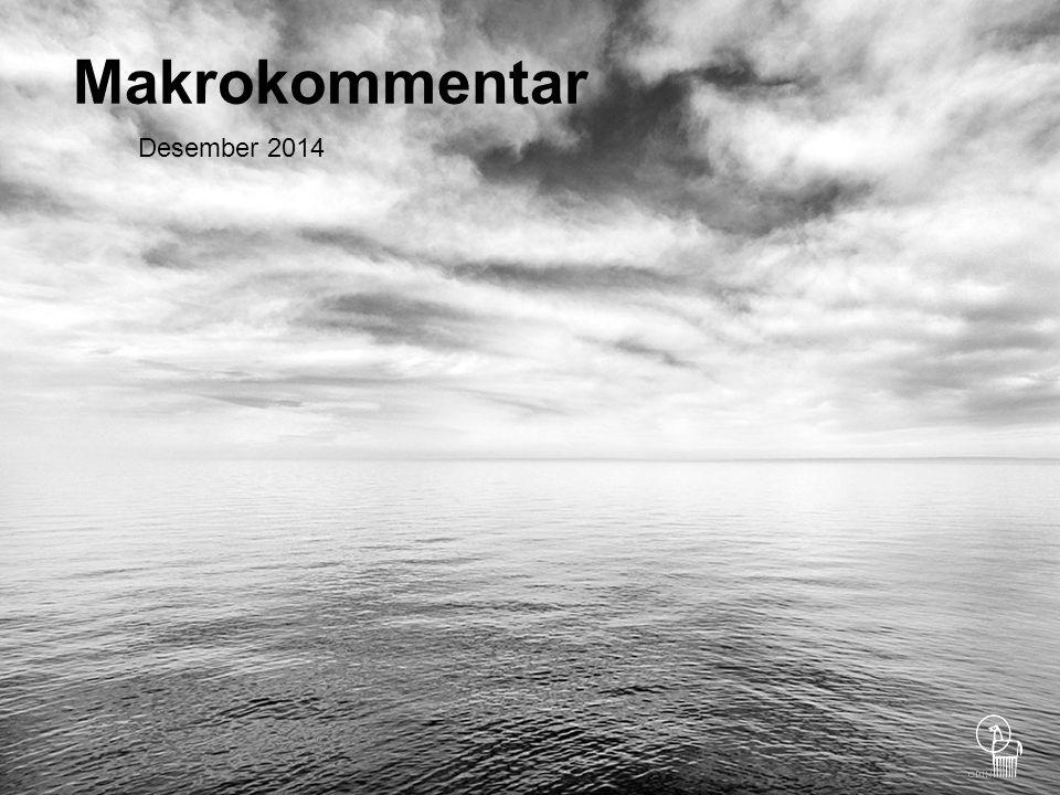 2 Blandet utvikling i desember Aksjemarkedene hadde en blandet utvikling i desember, men Oslo Børs var opp nesten to prosent, til tross for videre nedgang i oljeprisen.