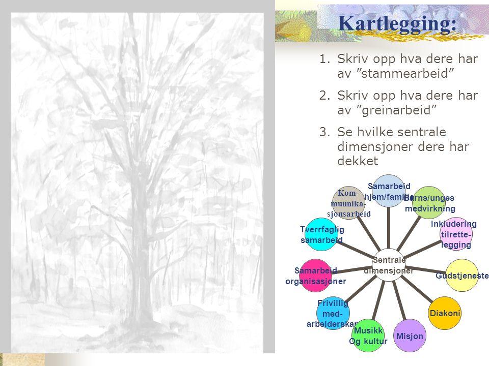 11 sentrale dimensjoner i trosopplæringen s.