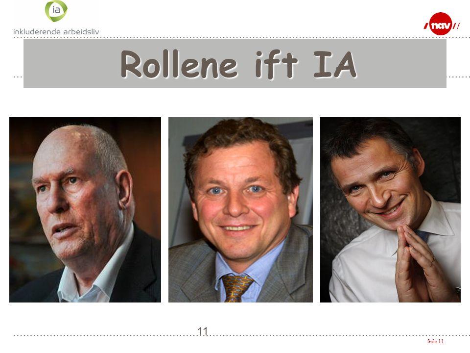 Side 11 11 Rollene ift IA Rollene ift IA