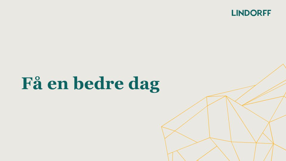 LINDORFFKONFERANSEN 2014 Ordet hvordan