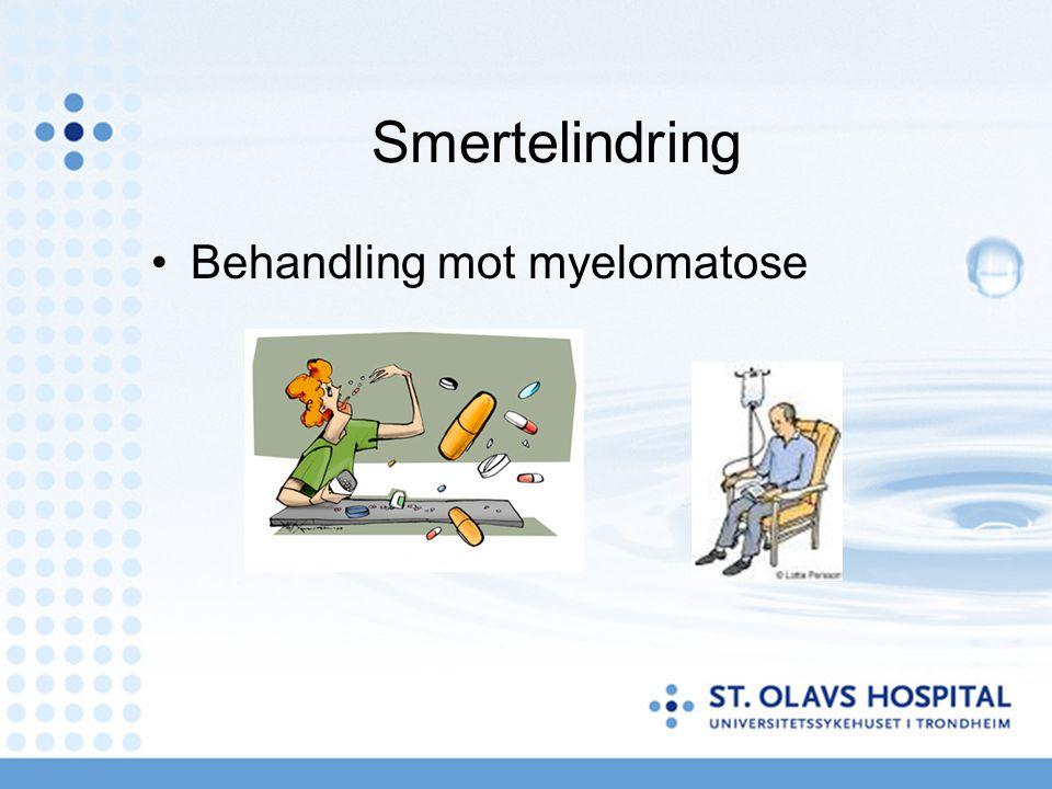 Smertelindring Behandling mot myelomatose
