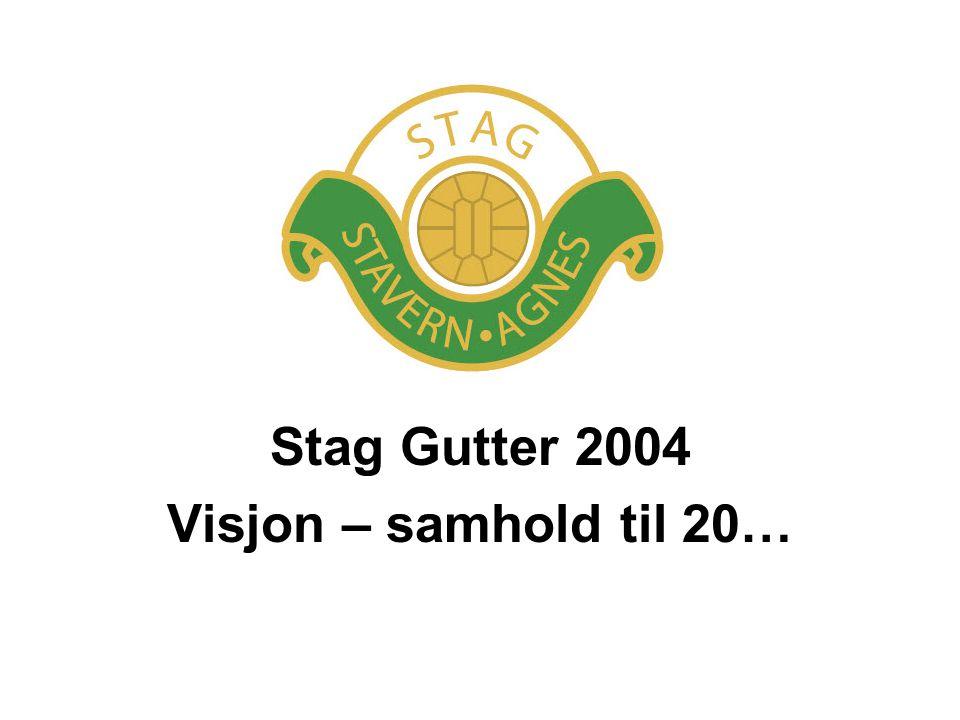 Stag Gutter 2004 Visjon – samhold til 20…