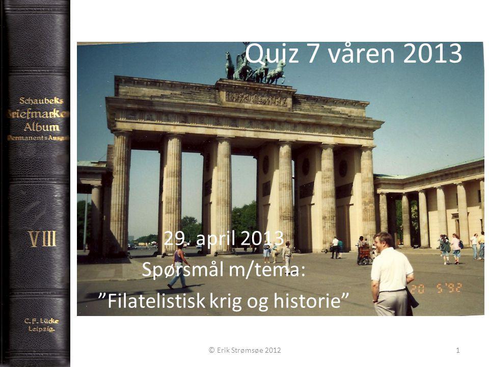 Quiz 7 våren 2013 29.