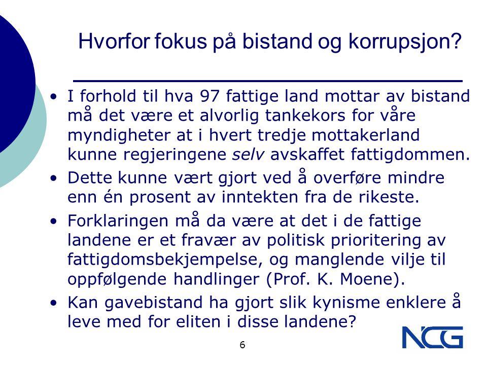 De brune konvoluttene FN-organisasjoner støttet av Norsk gavebistand hemmeligholder dagpenge- satser for å ikke bli utkonkurrert på «kursmarkedet» med dagpengene fra NGO- kurs, arrangert av f.