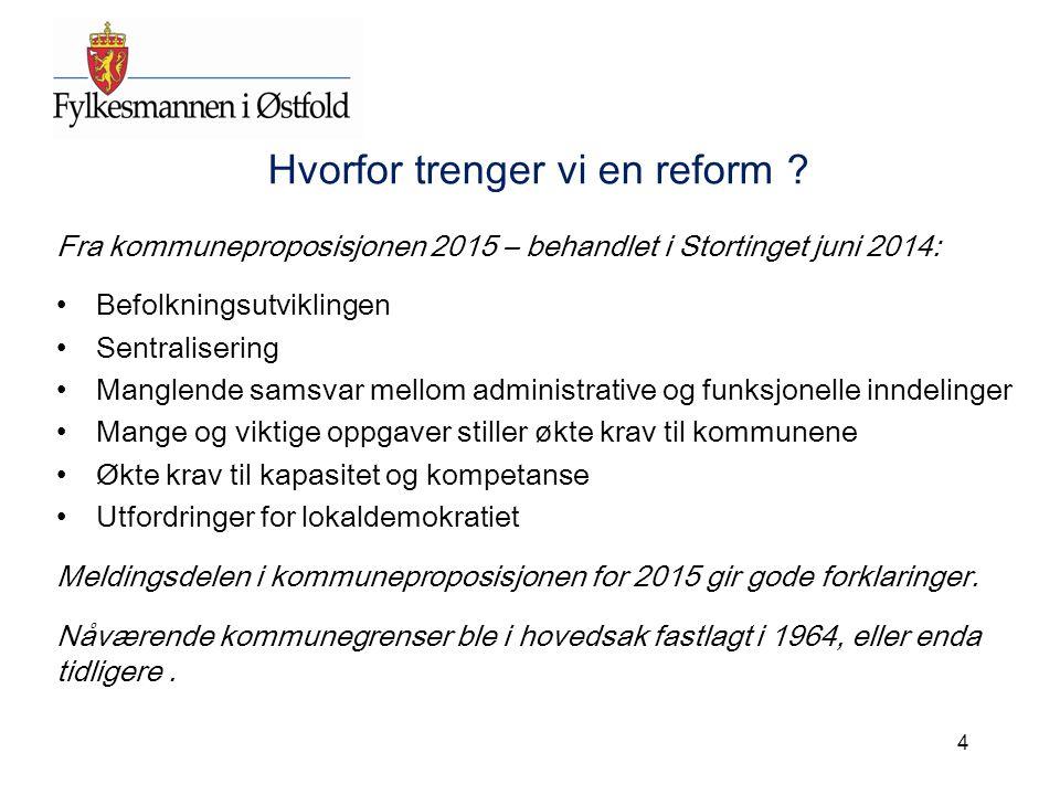 Sluttord Kommunereformen 2014 – 2020 representerer en helt ny tilnærming til endring av kommunestrukturen.