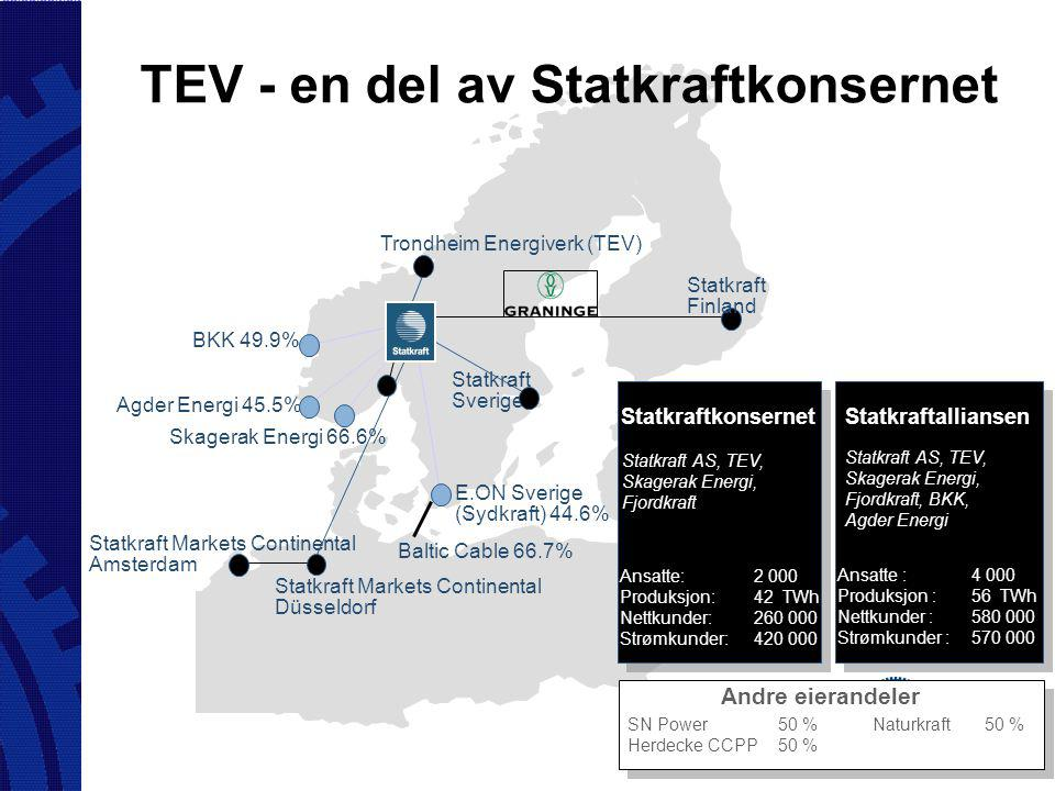 Baltic Cable 66.7% E.ON Sverige (Sydkraft) 44.6% Agder Energi 45.5% BKK 49.9% Statkraft Sverige Trondheim Energiverk (TEV) Skagerak Energi 66.6% Statk