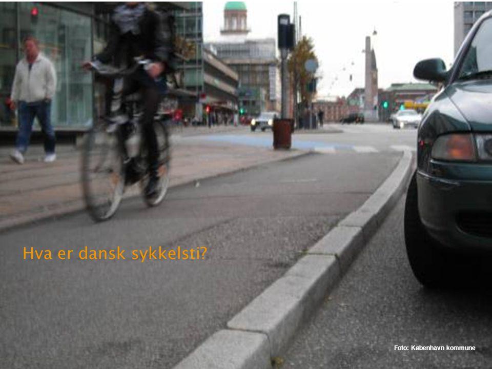 Kriteriene for sykkelfelt Dagens kriterier: ÅDT og fartsgrense Hva betyr tungtransport og busstrafikk for breddene? Hva betyr mengden syklister for br