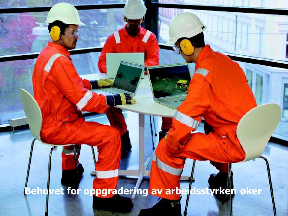 Taler bedriftenes sak Behovet for oppgradering av arbeidsstyrken øker