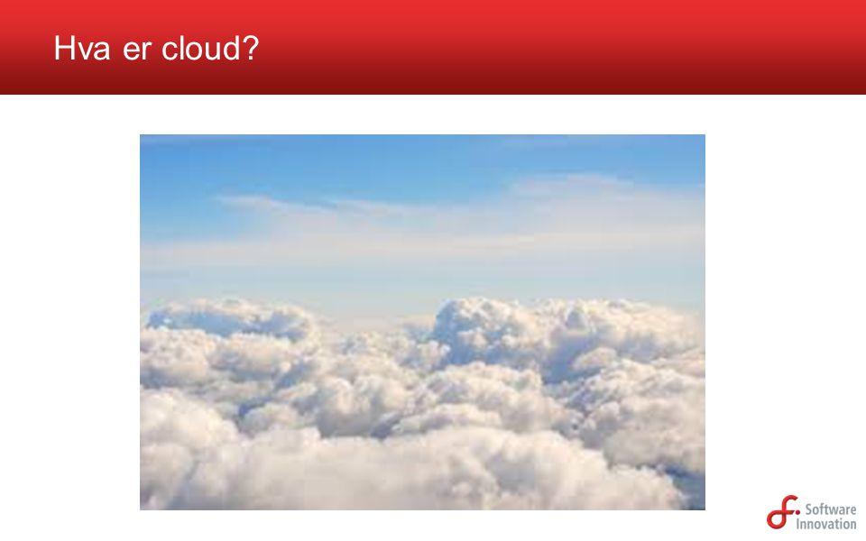 Hva er cloud?