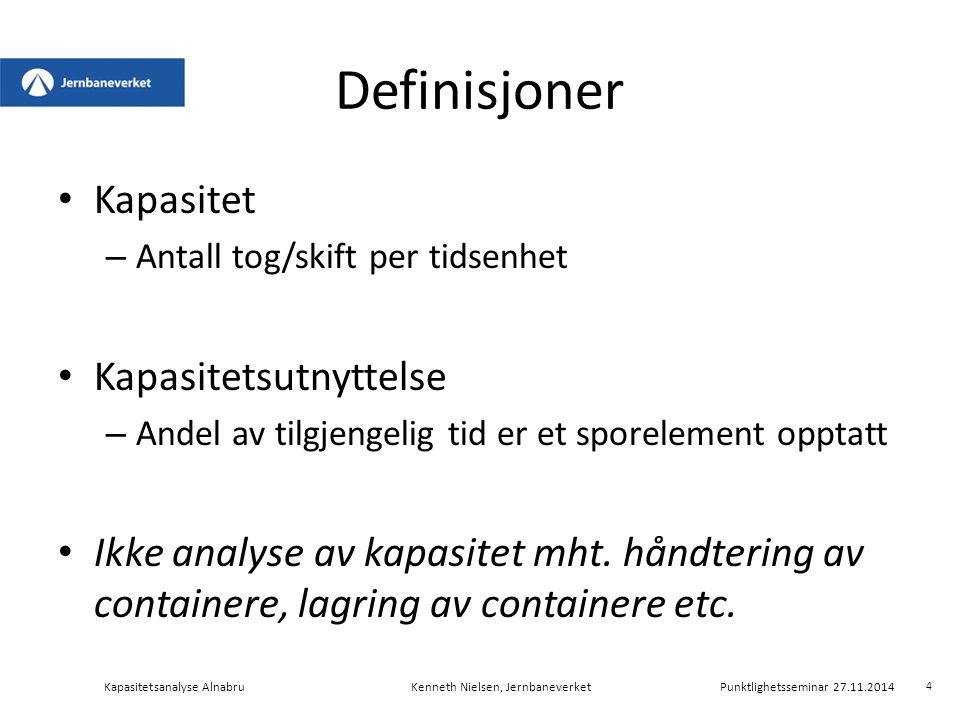 Deloppsummering Signifikant forskjell på operatører mht.