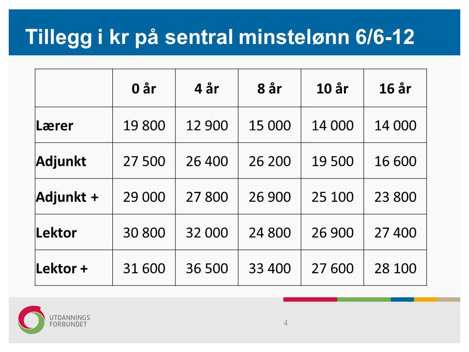 s15 Resultat i kr og % fordelt mellom noen medlemsgrupper (1/2-13 med forbehold)