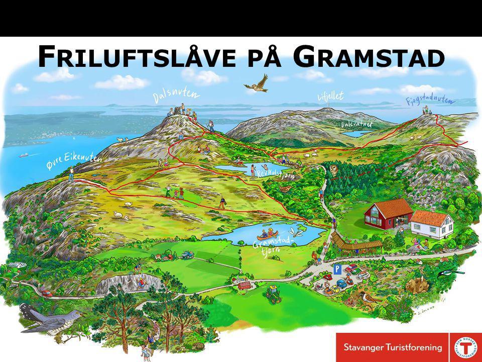 F RILUFTSLÅVE PÅ G RAMSTAD