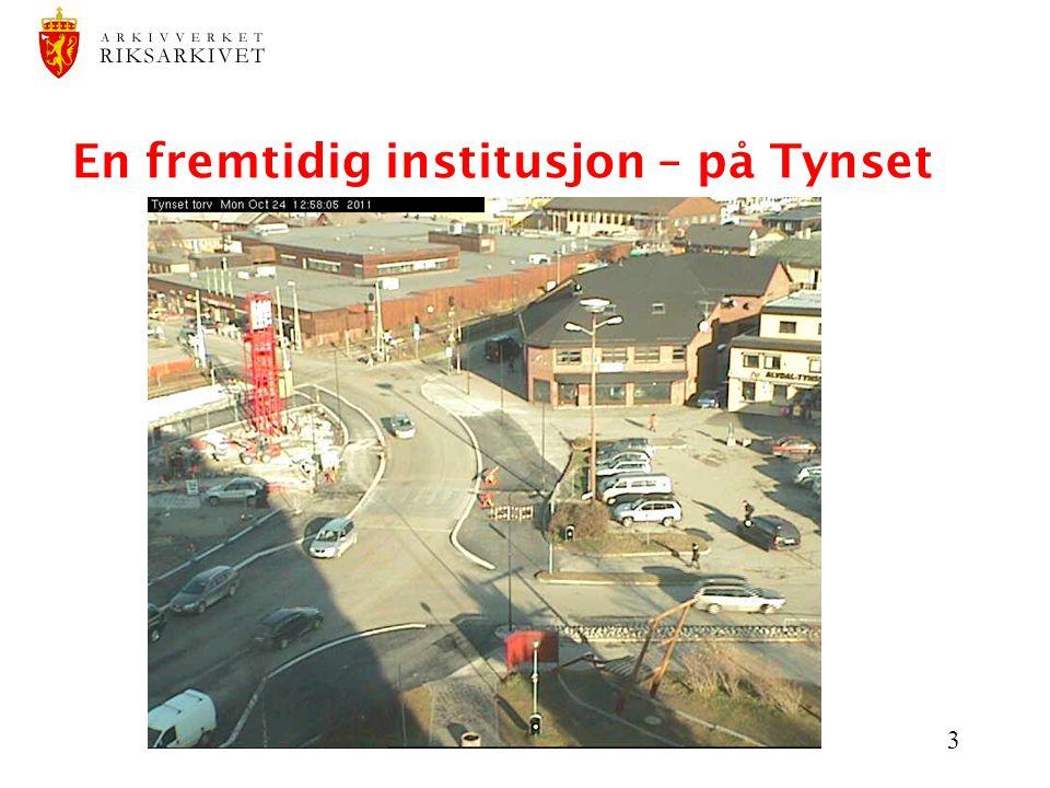 3 En fremtidig institusjon – på Tynset