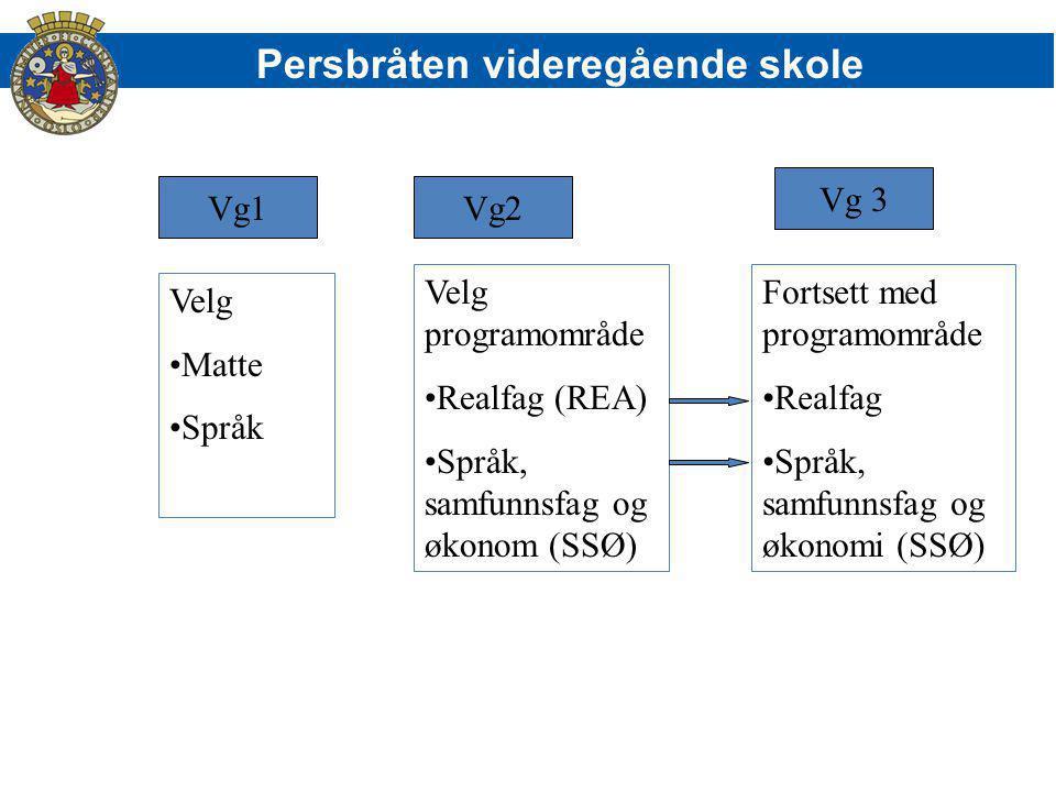 Persbråten videregående skole Elevene bruker MinID for å logge inn på vigo.novigo.no Søknadsfrist 1.