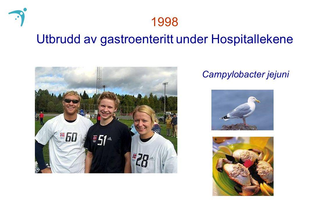 1998 Utbrudd av gastroenteritt under Hospitallekene Campylobacter jejuni