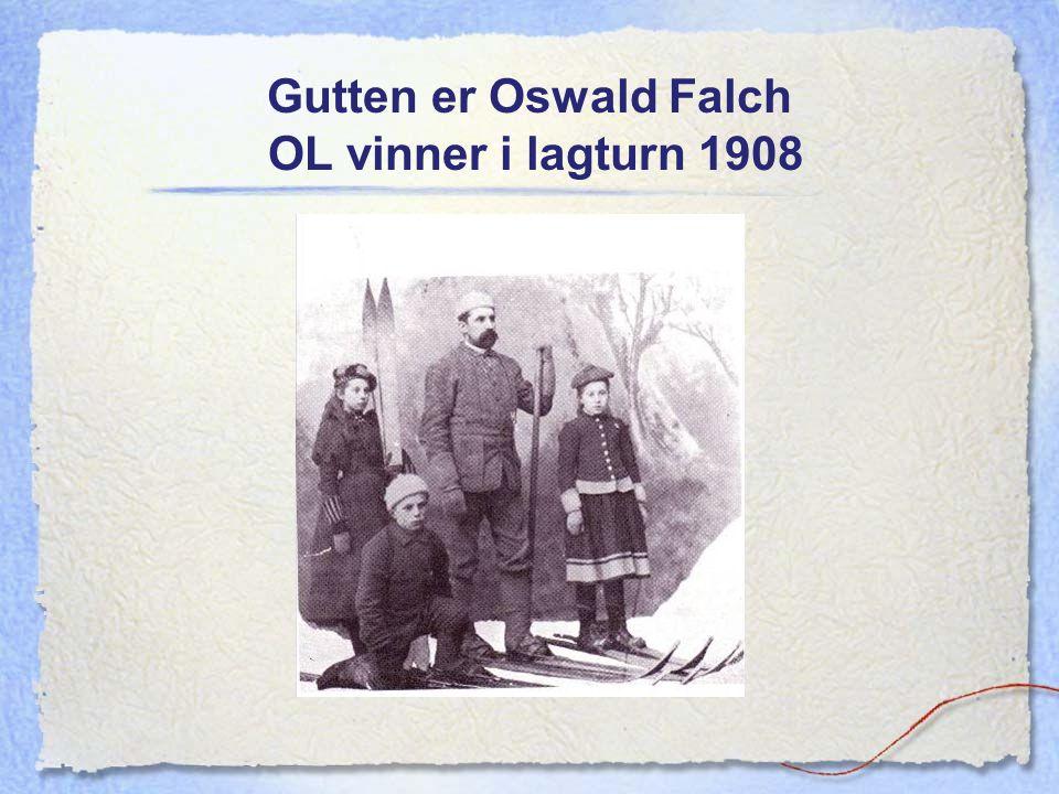 Gutten er Oswald Falch OL vinner i lagturn 1908