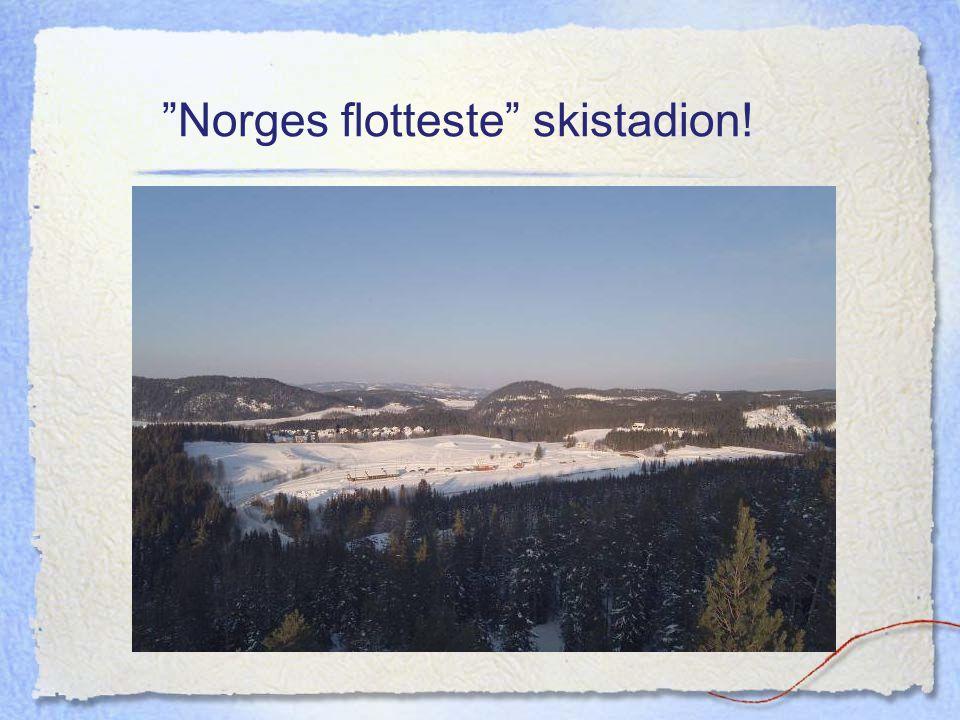 """""""Norges flotteste"""" skistadion!"""