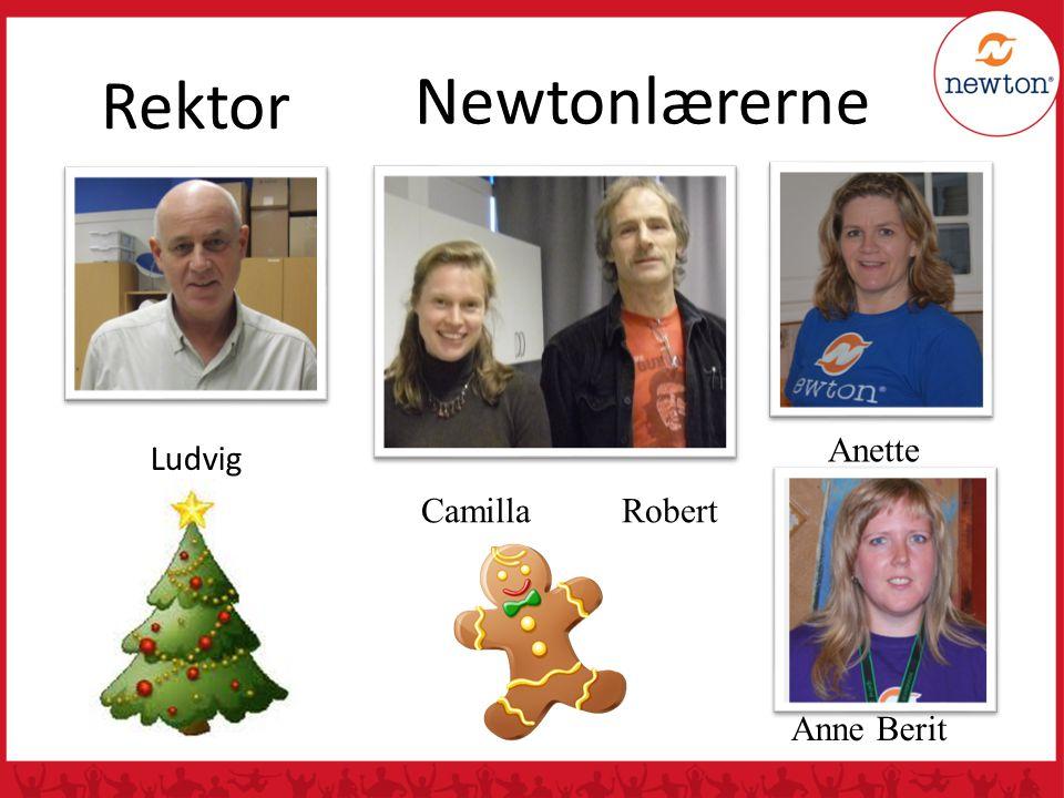 Newtonlærerne Camilla Robert Ludvig Rektor 8-13/ALA/Newton Rektor Ludvig Anette Anne Berit