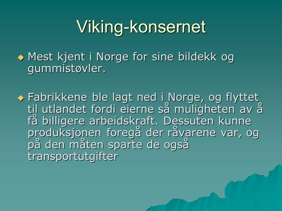 Norsk hydro  Det første store industriselskapet i Norge  Aluminiumsindustri, oljevirksomhet og kunstgjødsel.
