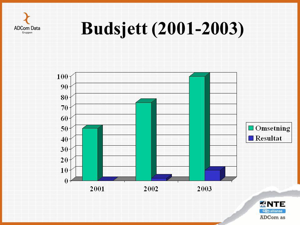 Budsjett (2001-2003)