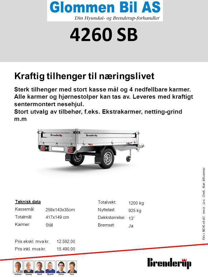 Pris i NOK ekskl.mva. Lev. Omk. Kan tilkomme Teknisk data Kassemål: Totalmål: Karmer: Pris ekskl.