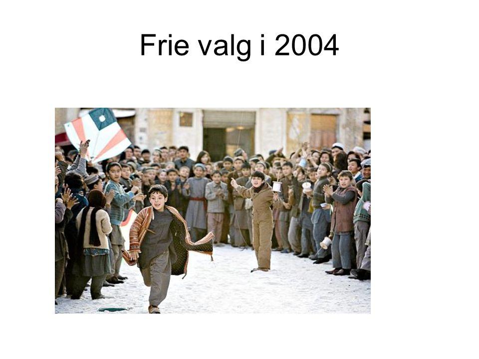Frie valg i 2004