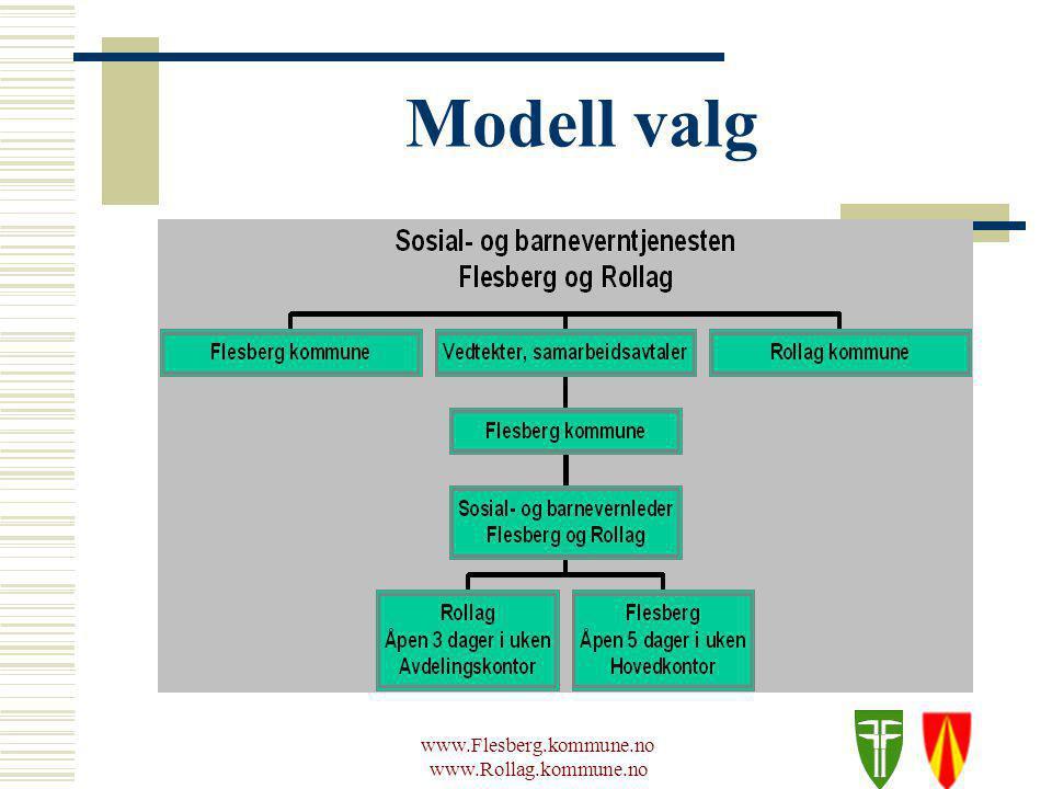 www.Flesberg.kommune.no www.Rollag.kommune.no Modell valg