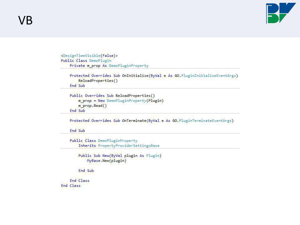 Debug Vælg Start external program og peg på C:\Program Files\B.V.