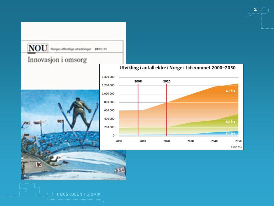 3 Fra beste til neste praksis -Innovasjon som KUNNSKAPSUTVIKLING Det er risikabelt å bruke 80 milliarder med 1 promille avsatt til FoU – og et virkemiddelapparat som halter.