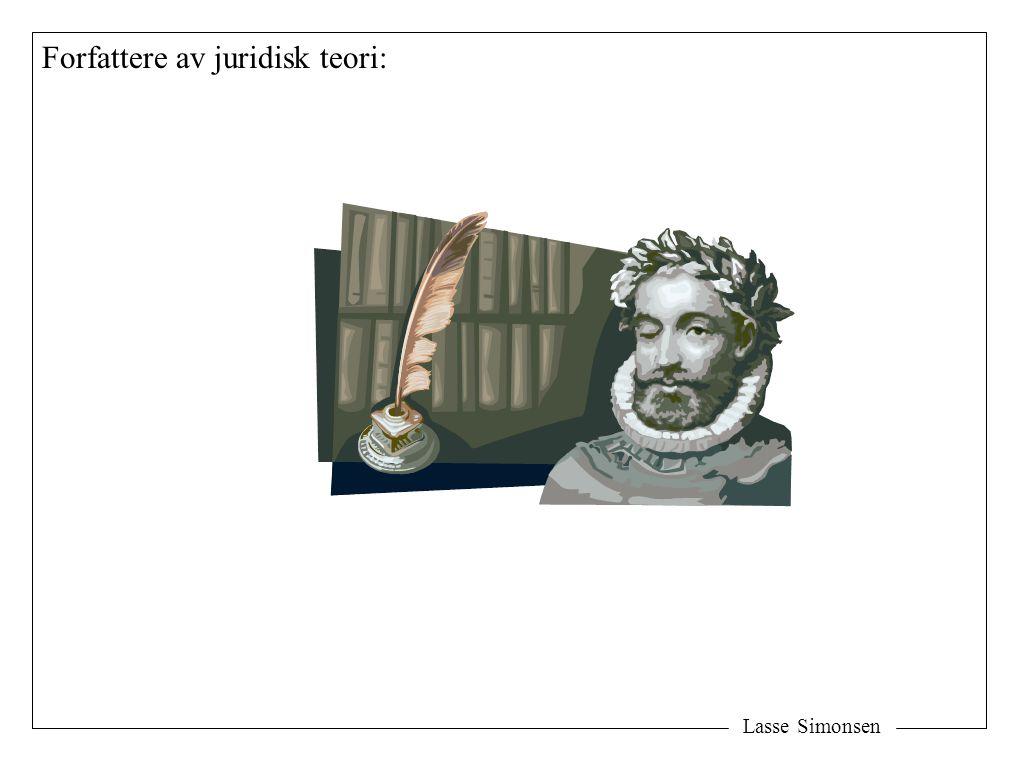 Lasse Simonsen Forfattere av juridisk teori: