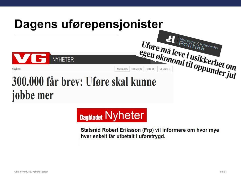Konsekvenser for låntakere Oslo kommune, VelferdsetatenSide 14 Det innføres en ordning med skattefradrag fra 01.01.2015.