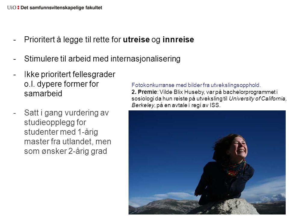 Fotokonkurranse med bilder fra utvekslingsopphold.