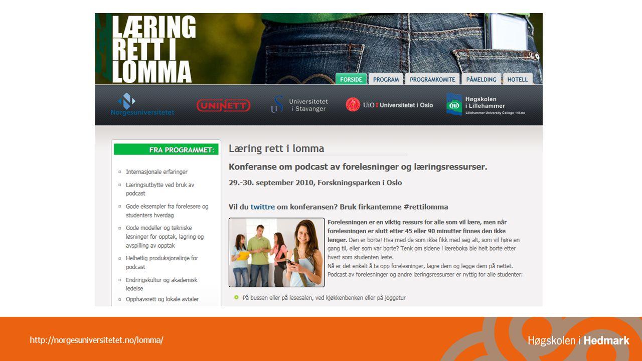 http://norgesuniversitetet.no/lomma/