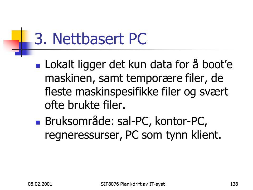 08.02.2001SIF8076 Planl/drift av IT-syst138 3.