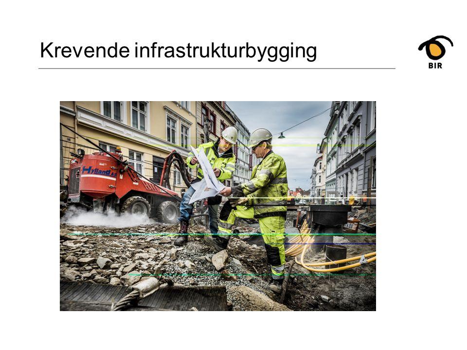 Krevende infrastrukturbygging