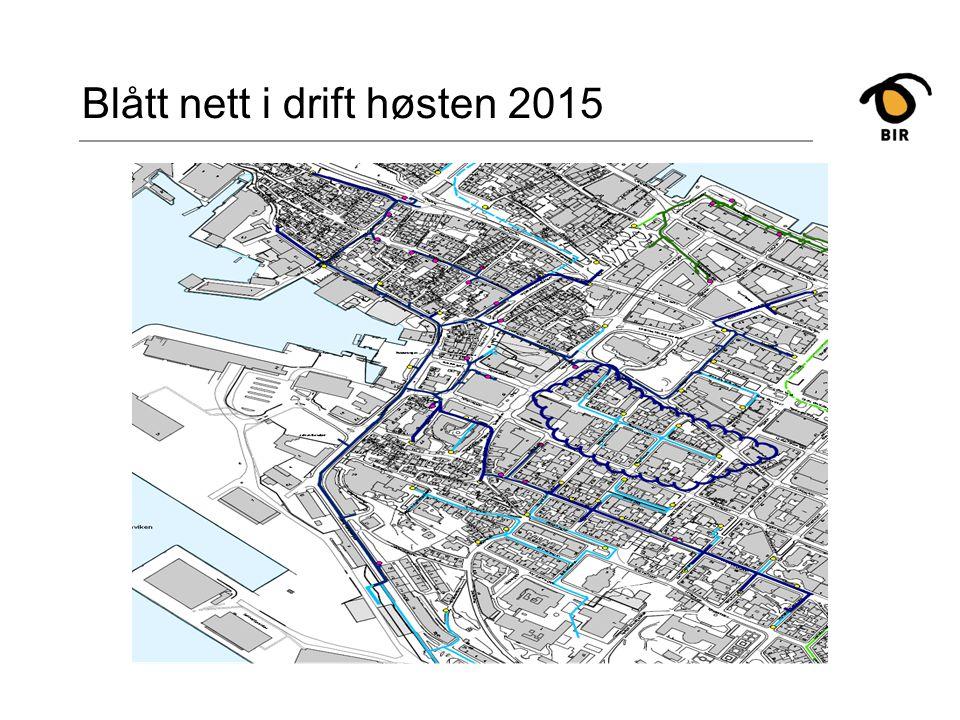 Blått nett i drift høsten 2015
