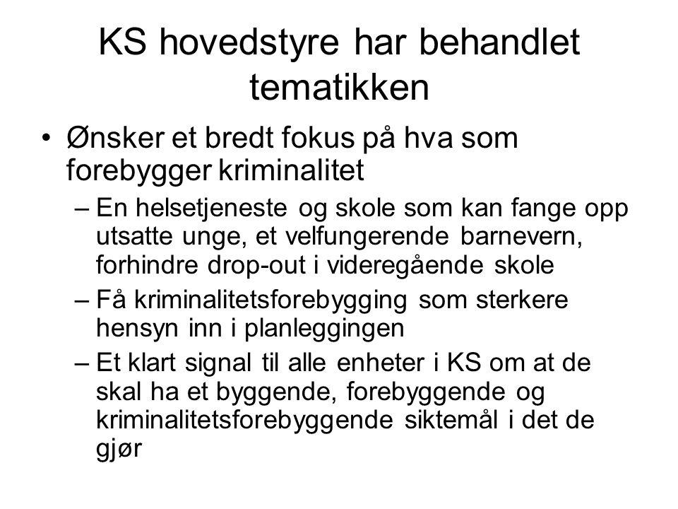 Vil bli tilbudt kommunene andre halvår 2010 Samarbeid KS, NOVA (ved Tormod Øia fra Kilevannet) og fire av Ruskompetansesentrene.